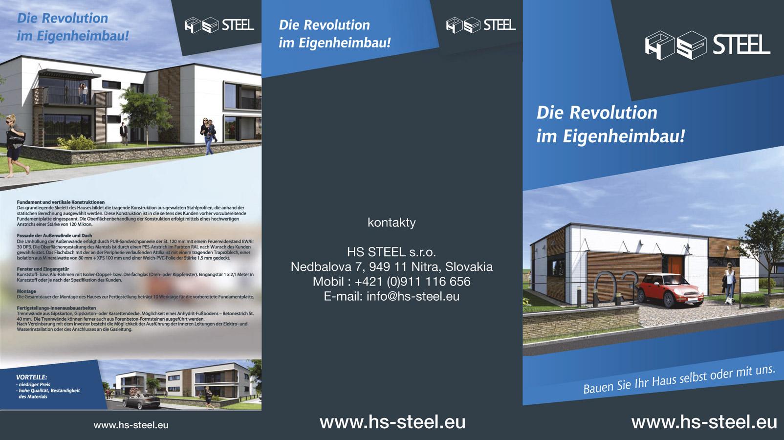 HS STEEL s.r.o. - Sandwichpaneele, Stahlkonstruktion, Z&C profil ...